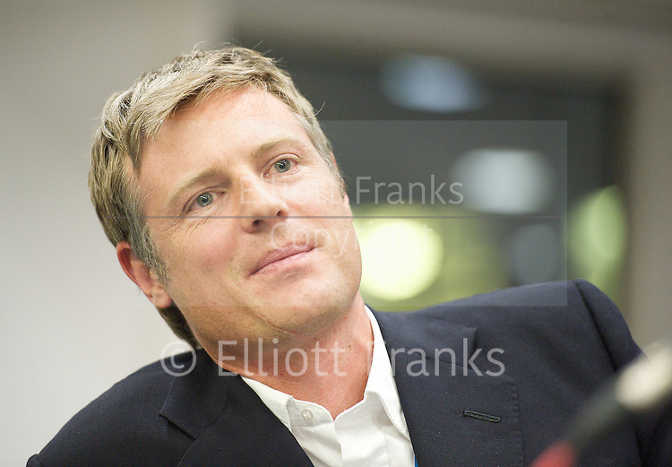 Zac Goldsmith MP announces his that he will be a Conservative candidate for the 2016 Mayor of London elections. <br /> <br /> 9th June 2015 <br /> <br /> Photograph by Elliott Franks