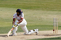 Varun Chopra of Essex is bowled by Marcus O'Riordan during Essex CCC vs Kent CCC, Bob Willis Trophy Cricket at The Cloudfm County Ground on 2nd August 2020