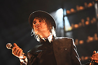 LONDON, ENGLAND - SEPTEMBER 6: Peter Doherty with 1001 candles performing at Hackney Empire on September 6, 2019 in London, England.<br /> CAP/MAR<br /> ©MAR/Capital Pictures