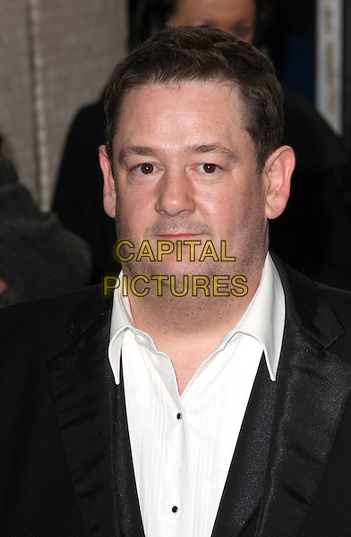 JOHNNY VEGAS .British Comedy Awards 2009 held at the ITV Studios, South Bank, London,.December 12th 2009..portrait headshot black white shirt .CAP/JIL.©Jill Mayhew/Capital Pictures