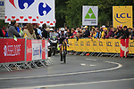 Roy Curvers (NED) Team Sunweb in action during Stage 1, a 14km individual time trial around Dusseldorf, of the 104th edition of the Tour de France 2017, Dusseldorf, Germany. 1st July 2017.<br /> Picture: Eoin Clarke | Cyclefile<br /> <br /> <br /> All photos usage must carry mandatory copyright credit (&copy; Cyclefile | Eoin Clarke)