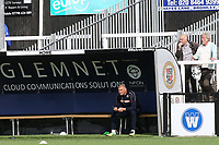 Bromley FC Goalkeeping Coach, Jim Standard, looks on during Bromley vs Chesterfield, Vanarama National League Football at the H2T Group Stadium on 7th September 2019