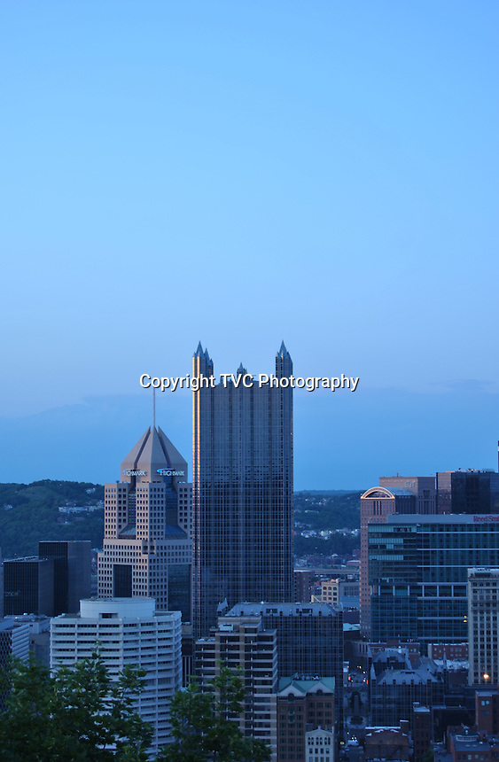Skyline Scenes of Pittsburgh PA