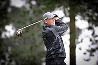 Mark Brown during Jennian Homes Charles Tour, John Jones Steel Harewood Open, Harewood Golf Course, Christchurch, New Zealand, Thursday 5 October 2017.  Photo: Martin Hunter/www.bwmedia.co.nz