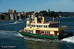 Sydney.Ferry dans la baie de Sydney.