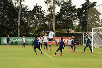 SAO PAULO, SP, 15.08.2014 - PALMEIRAS TREINO -  Jogadores do Palmeiras, durante o treino do Palmeiras na Academia de futebol zona oeste nesta sexta feira 15. (Foto: Bruno Ulivieri - Brazil Photo Press).