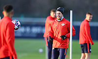 9th March 2020, Red Bull Arena, Leipzig, Germany; RB Leipzig press confefence and training ahead of their Champions League match versus Tottenham Hotspur on 10th March 2020; Emil Forsberg 10, RB Leipzig