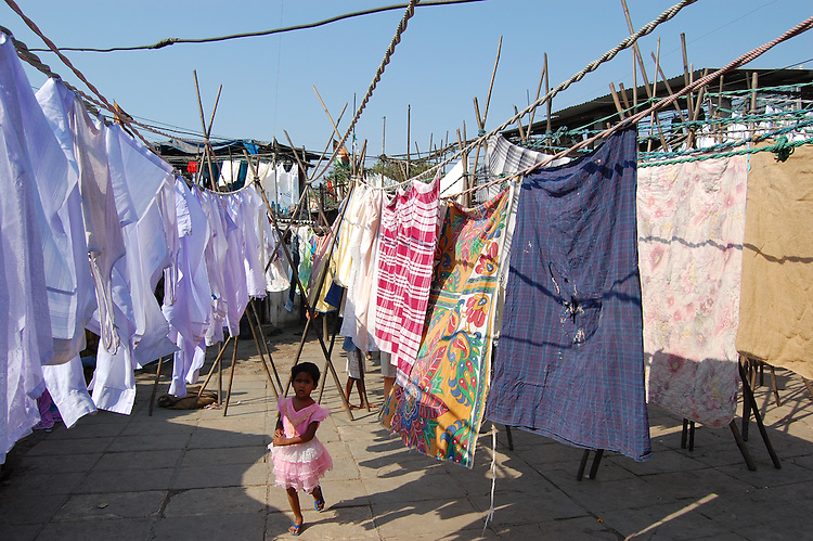 Dhobi Ghat - known as the world's largest outdoor laundry - Mumbai, India