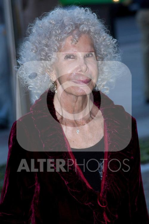 09.10.2012. Duchess of Alba Cayetana Martinez de Irujo attends concert in Ainhoa Arteta at the Teatros del Canal in Madrid, Spain. In the image  Cayetana Martinez de Irujo (Alterphotos/Marta Gonzalez)