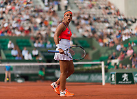 DOMINIKA CIBULKOVA (SVK)<br /> <br /> TENNIS - FRENCH OPEN - ROLAND GARROS - ATP - WTA - ITF - GRAND SLAM - CHAMPIONSHIPS - PARIS - FRANCE - 2017  <br /> <br /> <br /> <br /> &copy; TENNIS PHOTO NETWORK