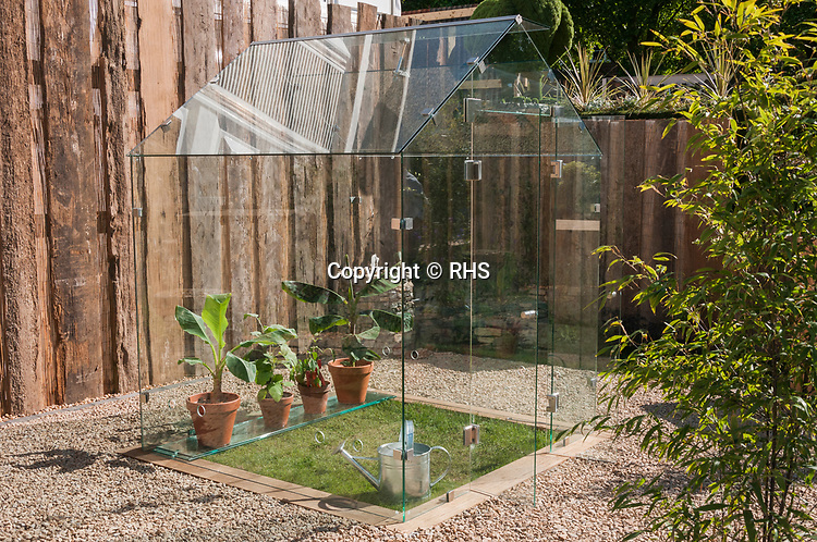 Trade product of the year. 2017 winner. Pure Glass Greenhouse – 6 x 8 Pure Glass Greenhouse. RHS Chelsea Flower Show 20172017.