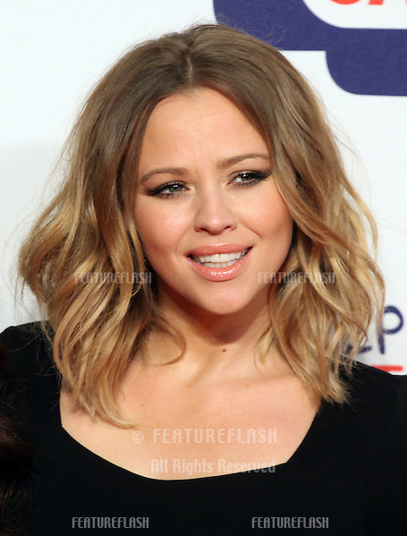 Kimberley Walsh from Girls Aloud arriving for the Capital Radio Jingle Bell Ball, O2 Arena, London. 09/12/2012 Picture by: Alexandra Glen / Featureflash
