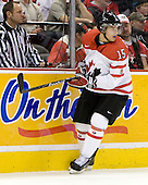 Stefan Della Rovere (Canada - 15) - Team Canada defeated the Czech Republic 8-1 on the evening of Friday, December 26, 2008, at Scotiabank Place in Kanata (Ottawa), Ontario during the 2009 World Juniors U20 Championship.