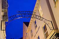 Royaume-Uni, îles Anglo-Normandes, île de Guernesey, Saint Peter Por: La vieille ville  // United Kingdom, Channel Islands, Guernsey island, Saint Peter Port: the old quarter