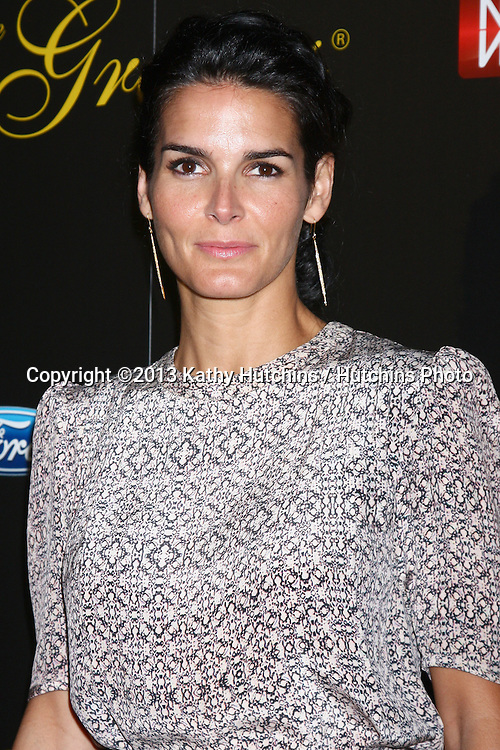 LOS ANGELES - MAY 21:  Angie Harmon arrives at the 38th Annual Gracie Awards Gala at the Beverly Hilton Hotel on May 21, 2013 in Beverly Hills, CA