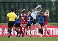 Boyds, MD - Saturday May 20, 2017: Nicole Barnhart during a regular season National Women's Soccer League (NWSL) match between the Washington Spirit and FC Kansas City at Maureen Hendricks Field, Maryland SoccerPlex.