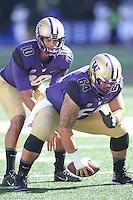 Sept 20, 2014:  Washington's Cyler Miles against Georgia State.  Washington defeated Georgia State 45-14 at Husky Stadium in Seattle, WA.