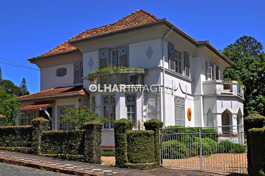 Casa do Consulado alemao em Blumenau. Santa Catarina. 2011. Foto de Alberto Viana.