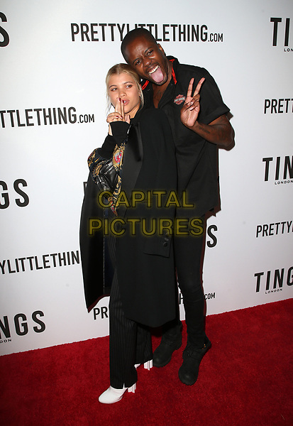WEST HOLLYWOOD, CA - August 23: Sofia Richie, Vas J Morgan, At TINGS Hosts 'Secret Party' Launch Celebrating Cover Star Cameron Dallas At Nightingale In California on August 23, 2017. <br /> CAP/MPI/FS<br /> &copy;FS/MPI/Capital Pictures