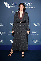 LONDON, UK. October 09, 2018: Ruth Wilson arriving for the 2018 IWC Schaffhausen Gala Dinner in Honour of the BFI at the Electric Light Station, London.<br /> Picture: Steve Vas/Featureflash