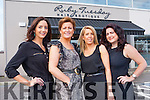 Therese Ferris, Denise Casey, Brenda O'Brien and Liz Carroll from Ruby Tuesday hair boutique Killarney