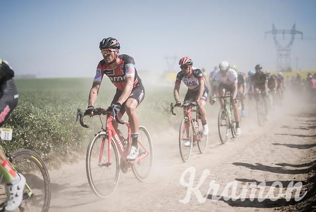 Greg Van Avermaet (BEL/BMC)<br /> <br /> 115th Paris-Roubaix 2017 (1.UWT)<br /> One Day Race: Compi&egrave;gne &rsaquo; Roubaix (257km)