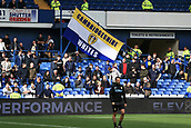 1st October 2017, Hillsborough, Sheffield, England; EFL Championship football, Sheffield Wednesday versus Leeds United; Leeds United fans settle in for the game