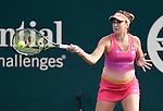 Belinda Bencic (SUI) loses to Elena Vesnina (RUS) 6-1, 6-1