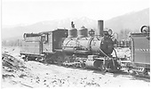 3/4 engineer's-side view of D&amp;RGW #315 in Salida.<br /> D&amp;RGW  Salida, CO  Taken by Kindig, Richard H. - 5/16/1937