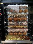 Chickens roasting,Bastile market,Paris