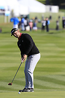 Jon Rahm (ESP) putts on the 6th green during Sunday's Final Round of the 2018 AT&amp;T Pebble Beach Pro-Am, held on Pebble Beach Golf Course, Monterey,  California, USA. 11th February 2018.<br /> Picture: Eoin Clarke | Golffile<br /> <br /> <br /> All photos usage must carry mandatory copyright credit (&copy; Golffile | Eoin Clarke)