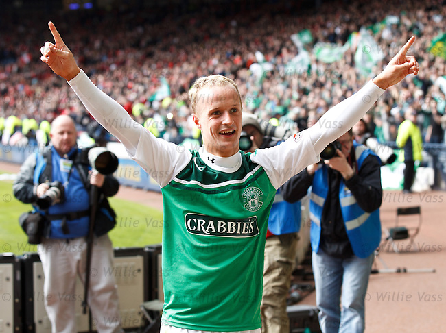 Leigh Griffiths at the end