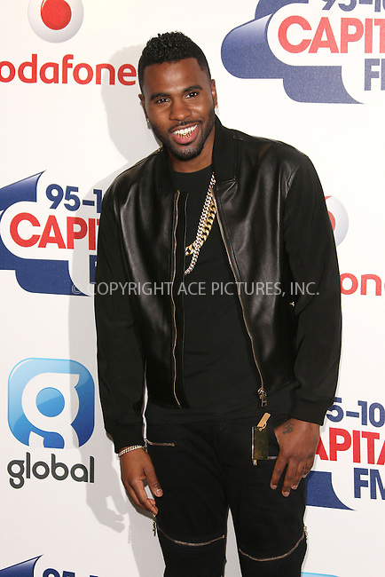 WWW.ACEPIXS.COM<br /> <br /> June 6 2015, London<br /> <br /> Jason Derulo at the Capital FM Summertime Ball on June 6 2015 in London<br /> <br /> By Line: Famous/ACE Pictures<br /> <br /> <br /> ACE Pictures, Inc.<br /> tel: 646 769 0430<br /> Email: info@acepixs.com<br /> www.acepixs.com