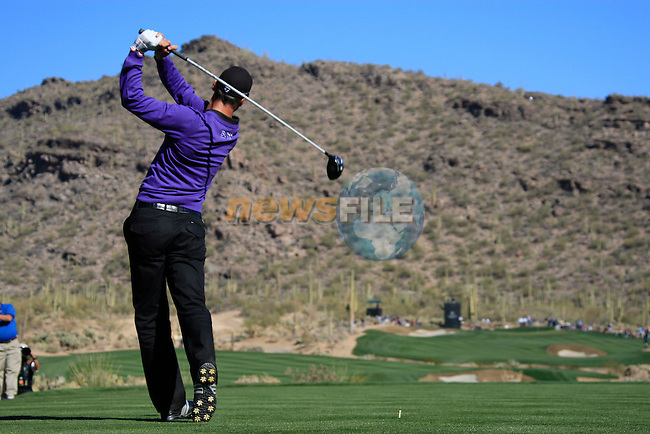 Martin Kaymer (GER) in action on the 15th hole during Day 2 of the Accenture Match Play Championship from The Ritz-Carlton Golf Club, Dove Mountain, Thursday 24th February 2011. (Photo Eoin Clarke/golffile.ie)