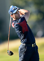 Oliver Wilson of England tees off during Round 1 of the 2015 Alfred Dunhill Links Championship at the Old Course, St Andrews, in Fife, Scotland on 1/10/15.<br /> Picture: Richard Martin-Roberts | Golffile