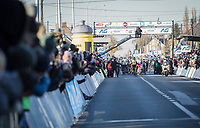 Dylan Groenewegen (NED/Team Lotto NL - Jumbo) wins the 70th Kuurne-Brussel-Kuurne 2018 (1.HC)