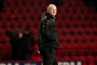 New Bradford City Manager, Simon Grayson, looks pleased with a point as he walks to the dressing room after the match during Charlton Athletic vs Bradford City, Sky Bet EFL League 1 Football at The Valley on 13th February 2018