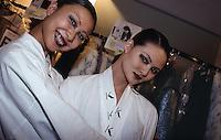 modelle; back stage Krizia