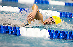 19 MAR 2016: Rose Bi of Michigan competes in the 1650 Yard Freestyle final during the Division I Women's Swimming & Diving Championship held at the Georgia Tech Aquatic Center in Atlanta, GA. David Welker/NCAA Photos