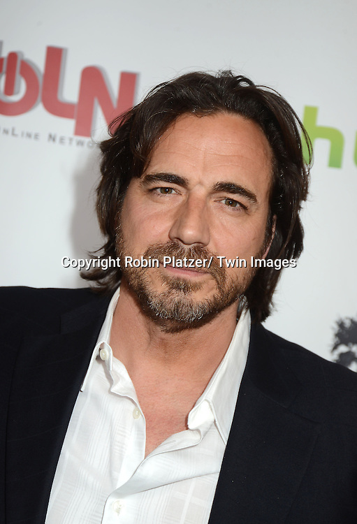 "Thorsten Kaye attends the New York Premiere of ""All My Children"" and. ""One Life to Live "" on April 23, 2013 at NYU Skirball Theatre in New York City. Prospect Park is producing the shows and they will air on www.hulu.com starting on April 29, 2013."