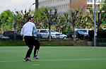 FRANKFURT AM MAIN, GERMANY - Mai 25: Jugendturnier der U16/U19 (Maedchen und Jungen) der Suedliga am 25. Mai, 2013 auf dem Sportgelaende des SC Frankfurt 1880 in Frankfurt am Main. (Photo by Dirk Markgraf/www.265-images.com)