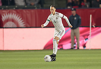 CARSON, CA - FEBRUARY 7: Janelly Farias #3 of Mexico moves with the ball during a game between Mexico and USWNT at Dignity Health Sports Park on February 7, 2020 in Carson, California.