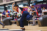 Shota Koki (JPN), <br /> AUGUST 23, 2018 - Bowling : <br /> Men's Trios Block 2 <br /> at Jakabaring Sport Center Bowling Center <br /> during the 2018 Jakarta Palembang Asian Games <br /> in Palembang, Indonesia. <br /> (Photo by Yohei Osada/AFLO SPORT)