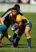 Eddie Bredenhahn during the International rugby match between New Zealand Secondary Schools and Suncorp Australia Secondary Schools at Yarrows Stadium, New Plymouth, New Zealand on Friday, 10 October 2008. Photo: Dave Lintott / lintottphoto.co.nz