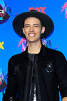 LOS ANGELES - AUG 13:  Leroy Sanchez at the Teen Choice Awards 2017 at the Galen Center on August 13, 2017 in Los Angeles, CA
