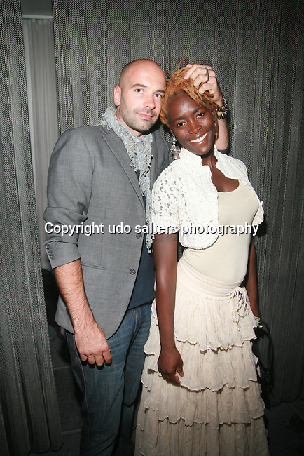 Guests Attend SACHIKA TWINS Present REVE BOUTIQUE FASHION SHOW at The Skyroom, NY 8/2/11