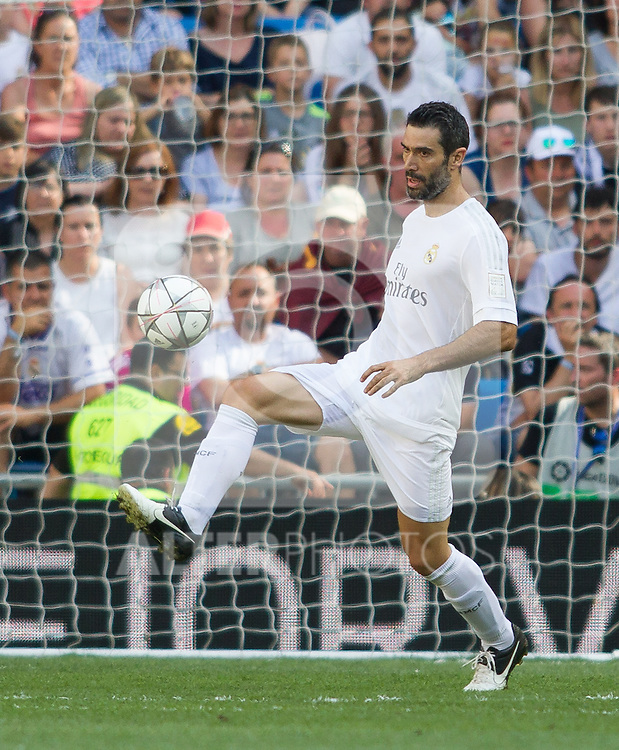 Fernando Sanz during the Corazon Classic Match 2016 at Estadio Santiago Bernabeu between Real Madrid Legends and Ajax Legends. Jun 5,2016. (ALTERPHOTOS/Rodrigo Jimenez)