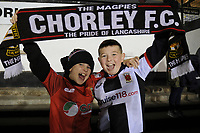 Young fans before the match during Chorley vs Fleetwood Town, Emirates FA Cup Football at Victory Park on 6th November 2017