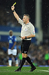 Referee Jonathan Moss<br /> - Barclays Premier League - Everton vs Leicester City - Goodison Park - Liverpool - England - 19th December 2015 - Pic Robin Parker/Sportimage