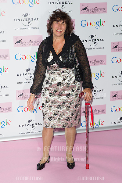 Janis Winehouse arriving for the Amy Winehouse Foundation Dinner, London. 20/11/2013 Picture by: Dave Norton / Featureflash